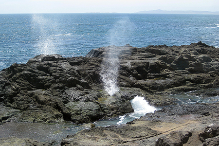 Bahia Asuncion blowhole