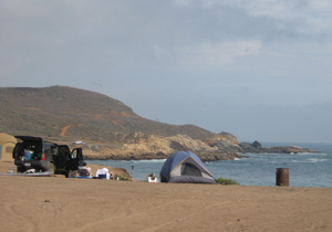 Punta Cabra Camp - Baja Surf Guide