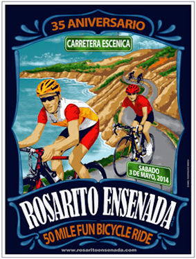Rosarito Ensenada May 2014 Poster