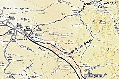 Agua Dulce California Map.Agua Dulce Baja Travel Adventures Baja Bound Insurance