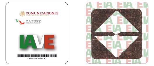 IAVE TAG sticker