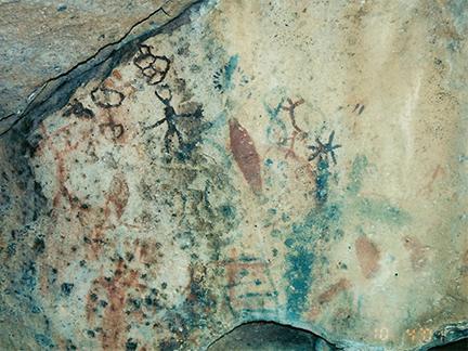 Mission San Borja Cave Paintings