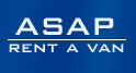ASAP Rent A Van Logo