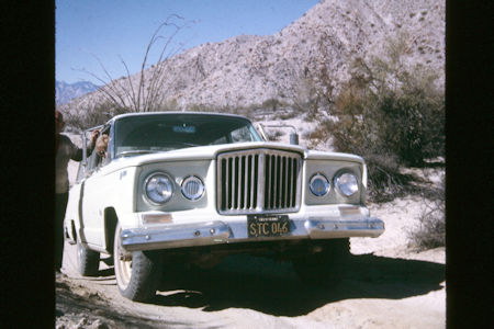 Jeep Wagoneer in Baja