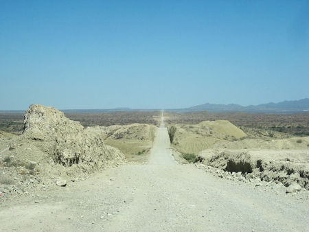 Bahía Tortugas Unpaved Highway