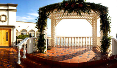 A Particularly Warm And Unique Wedding Venue The Hotel Calafia Is Known For Its Lush Historical Gardens Tranquil Ocean View Setting