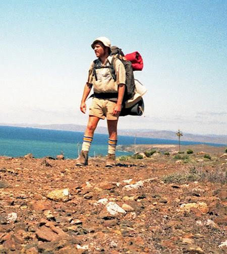 Graham with Backpack in Baja