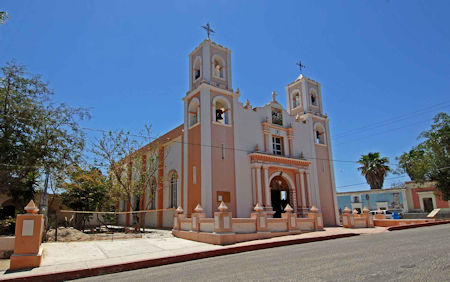 Church Santiago Baja California Sur