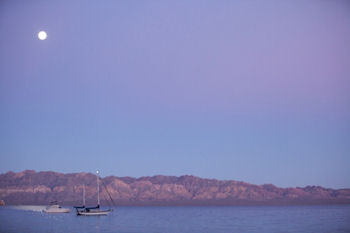 Sea of Cortez Moon