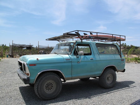 Bronco in Baja