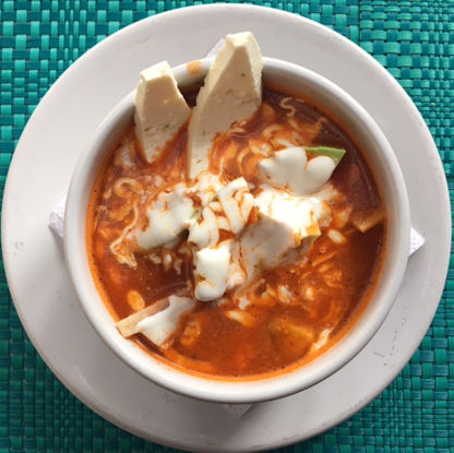 Tripui Restaurant Tortilla Soup Puerto Escondido