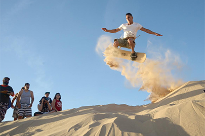Mexicali Dune Surfing