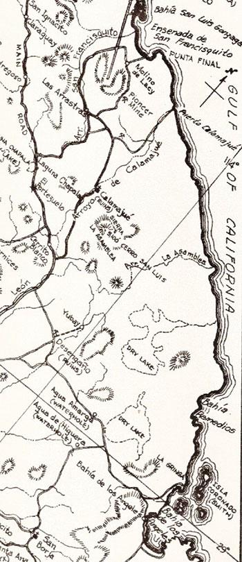 Bahia De Los Angeles Map.Beyond San Felipe Gonzaga Bay To Bahia De Los Angeles Baja