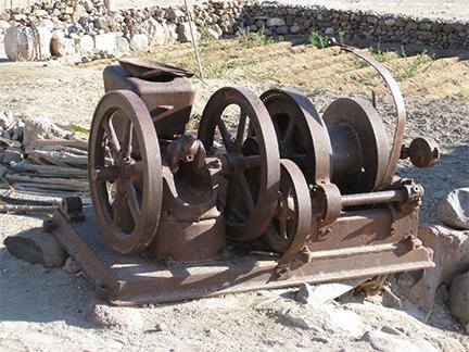 Mission San Borja Machinery