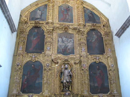 Mission San Francisco Javier artwork
