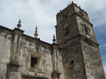 Mission San Francisco Javier tower