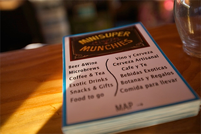 Mini Super Munchies menu