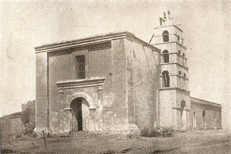 The Todos Santos mission in 1919