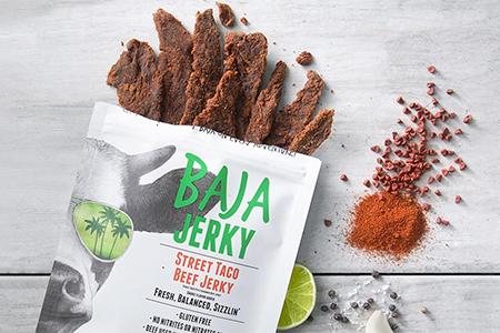 Baja Jerky Street Taco